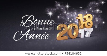 goud · verandering · nieuwjaar · 3d · illustration · kalender - stockfoto © oakozhan