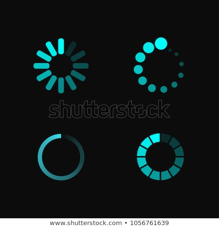 charge loading download upload template stock photo © romvo