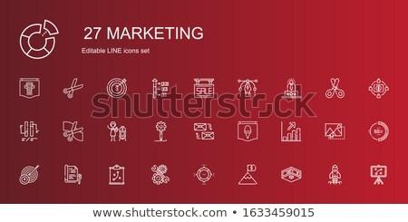 liefdadigheid · lijn · ontwerp · moderne · vector - stockfoto © robuart