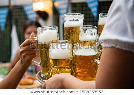 teengaer drinking a beer stock photo © bluering