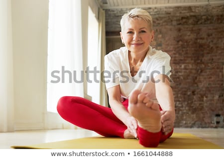 Fitness Activities, People Training and Stretching Stok fotoğraf © robuart