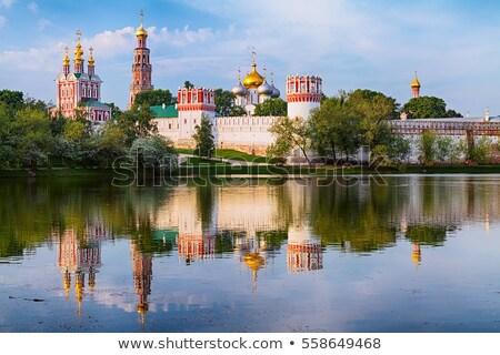 Москва Россия Церкви предположение город крест Сток-фото © borisb17