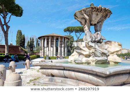 Temple of Hercules Victor, Rome Stock photo © borisb17