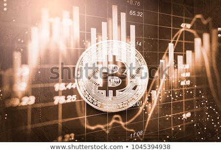 Cryptocurrency, Business, bitcoin coin and Trading concept Stock photo © JanPietruszka