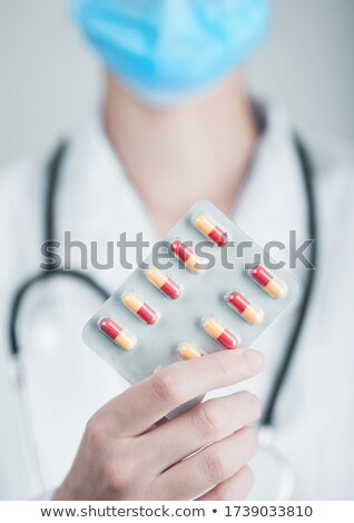 医療 医師 錠剤 グレー 病院 ストックフォト © DenisMArt