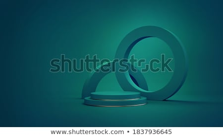 abstract green frame stock photo © olgadrozd