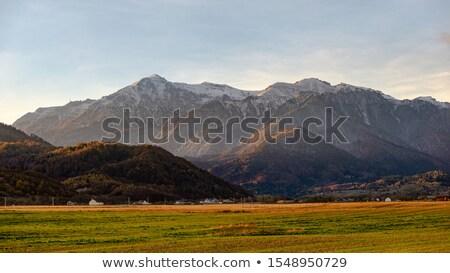 румынский горные пейзаж обои религии лесу Сток-фото © smithore