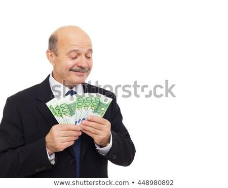 cheiro · dinheiro · mulher · atraente · papel · cabelo - foto stock © photography33