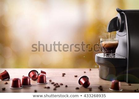 эспрессо мнение белый Сток-фото © HectorSnchz