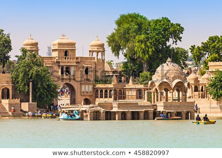 palace on lake in Jaisalmer India Stock photo © Mikko