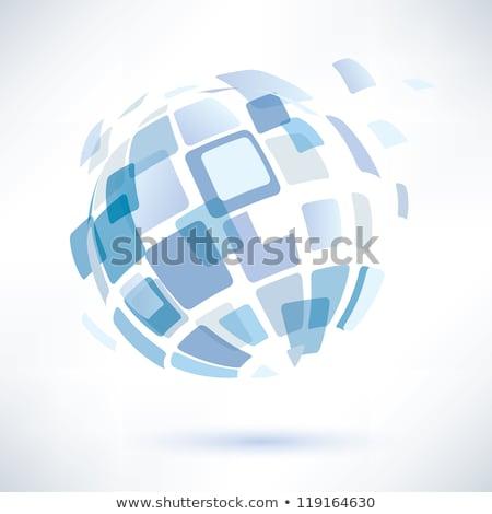 Soyut parlak iş dünya dünya uzay Stok fotoğraf © rioillustrator