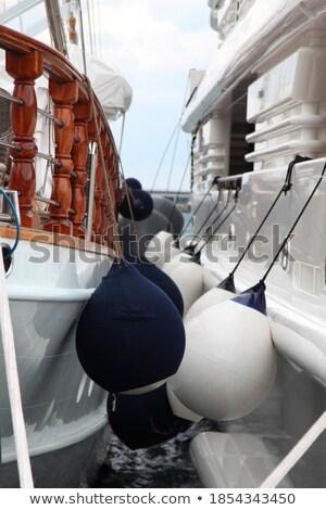 siyah · tekne · bulutlu · yaz · sabah · orman - stok fotoğraf © rmbarricarte