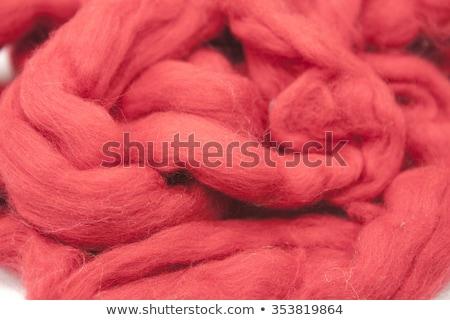Stock fotó: Piros · darab · ausztrál · birka · gyapjú · fajta