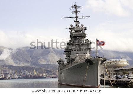 haven · wachten · missie · water · oceaan · oorlog - stockfoto © vapi