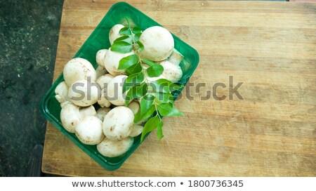 kettő · gombák · champignon · fény · étel · természet - stock fotó © digifoodstock