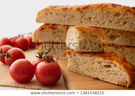 томатный · лук · белый · фон · кухне - Сток-фото © d_duda