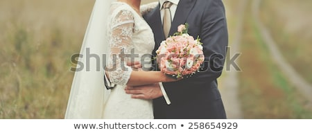 married couple in a field stock photo © is2