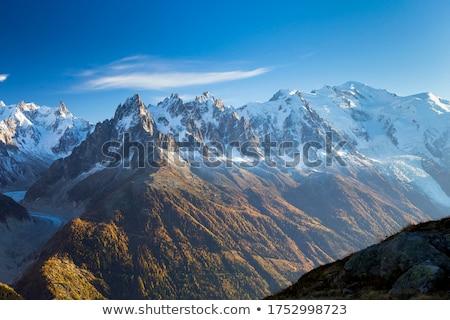 Montanha cenário França árvore frio dente Foto stock © IS2