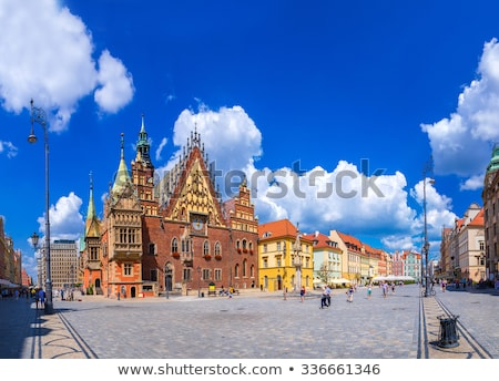 Wroclaw City Hall on Market Square  Stock photo © benkrut