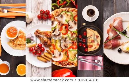 inny · obiedzie · indonezyjski · żywności · zielone · kurczaka - zdjęcia stock © furmanphoto