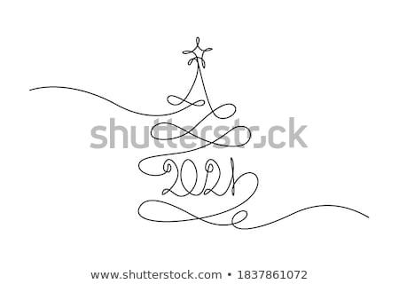 buon · anno · celebrazione · felice · nuovo · luce · effetto - foto d'archivio © balabolka