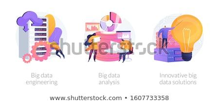 Cloud engineering services vector concept metaphors. Stock photo © RAStudio