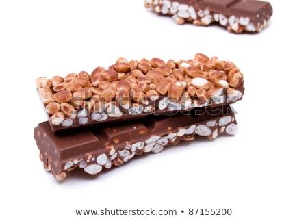 Rice chocolate pieces Stock photo © luissantos84