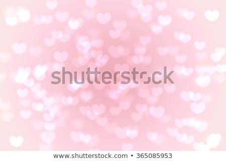 Csillog szív boldog valentin nap terv absztrakt Stock fotó © SArts