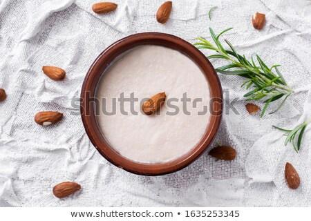 menjar blanc, typical of Catalonia, Spain Stock photo © nito