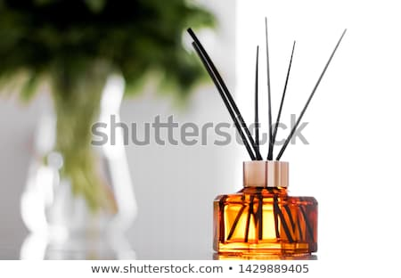 Home fragrance bottle, european luxury house decor and interior  Stock photo © Anneleven