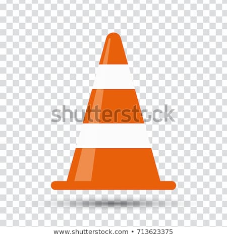 Traffic Cone, Construction Equipment, Road Vector Stock photo © robuart