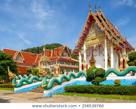 Templo phuket Tailândia verão dia casa Foto stock © bloodua