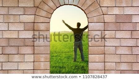 sziget · börtön · Broadway · sejt · szövetségi · belső - stock fotó © searagen
