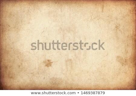 Anciens grunge manuscrit isolé blanche fond Photo stock © cidepix