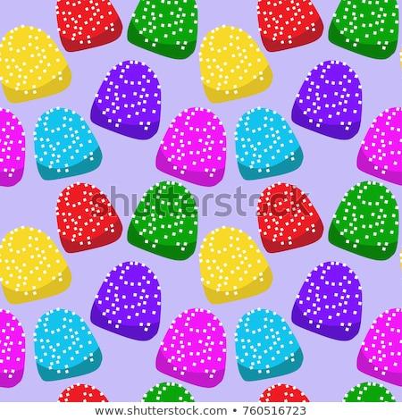 камедь падение конфеты Рождества красочный фото Сток-фото © rcarner