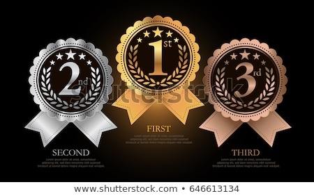 illustration of 1st; 2nd; 3rd awards Stock photo © experimental