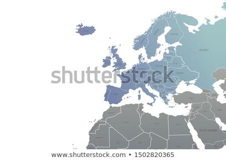 Эстония путешествия карта бизнеса дизайна Сток-фото © speedfighter