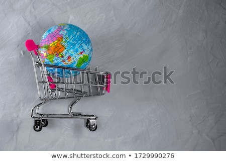 globle shopping stock photo © oblachko