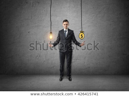 A Good Idea is Worth its Weight in Gold Stock photo © iqoncept