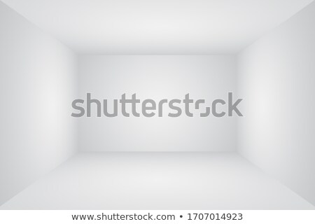 Blank banners in a old white room Stock photo © IMaster
