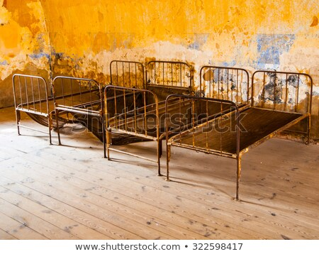 Barracks Room In Terezin Stock photo © searagen