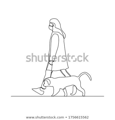 животные человек вектора Сток-фото © christina_yakovl