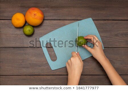 мандарин · оранжевый · мнение · свежие · сочный - Сток-фото © klsbear