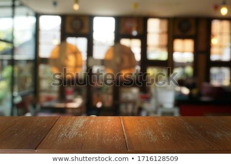 bar table stock photo © gant