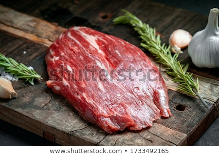 Flank Steak On The BBQ stock photo © franky242