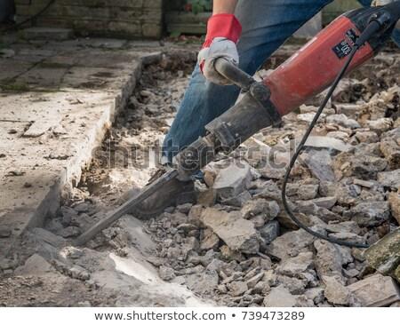 yıkım · çekiç · adam · mason · işçi - stok fotoğraf © photography33