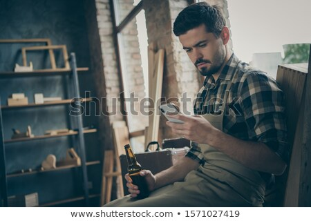 artisan on the phone stock photo © photography33