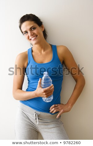 pretty young woman in workout attire Stock photo © christinerose81
