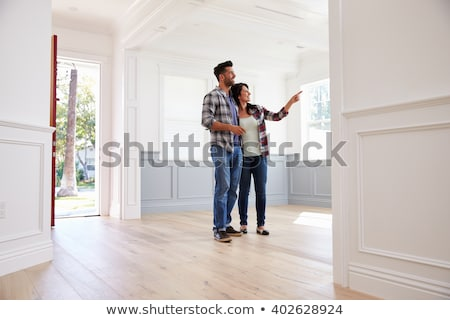 Couple viewing a potential home Stock photo © photography33