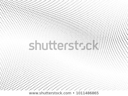 Abstrato pontilhado ondulado fundo preto escuro Foto stock © fixer00